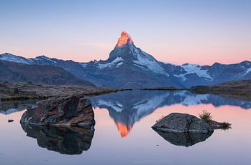 Matterhorn & Stellisee von Sander van der Werf