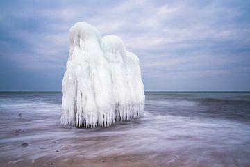 Winter on the Baltic Sea coast sur Rico Ködder