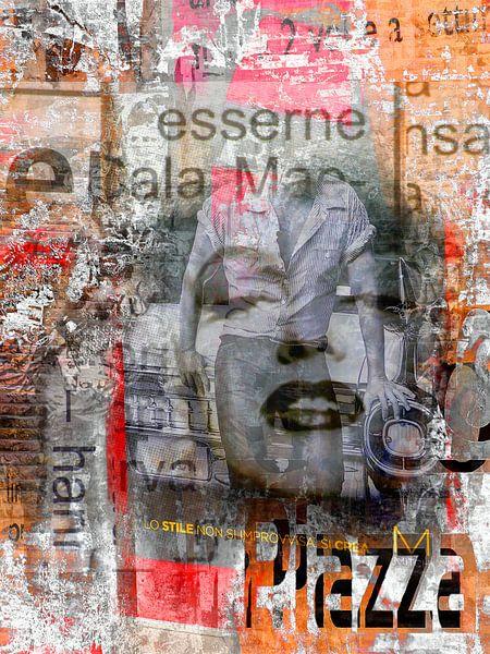 Marilyn and the young man van Gabi Hampe