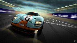 Ford GT40 van Thomas Bigwood