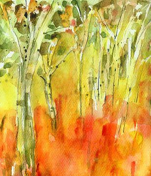 Bäume von Claudia Gründler