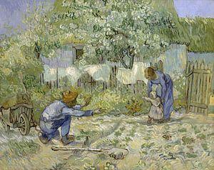 Die ersten Schritte, nach Millet, Vincent van Gogh, 1890