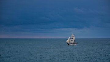 Segelschiff von Anneke Hooijer