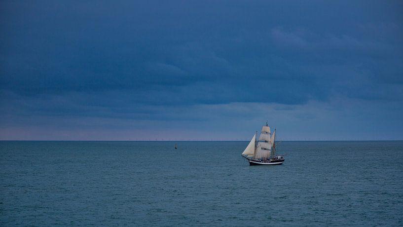 Zeilschip van Anneke Hooijer