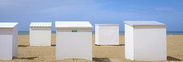 Cabines de plage sur Johan Vanbockryck