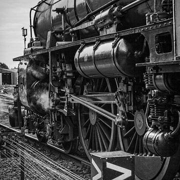 Zahnrad-Dampflokomotive 1220 von Rob Boon