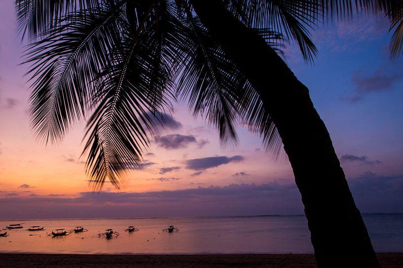 Sunset op Bali Indonesië  von Willem Vernes
