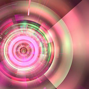 Excentrische cirkel van Thea Walstra
