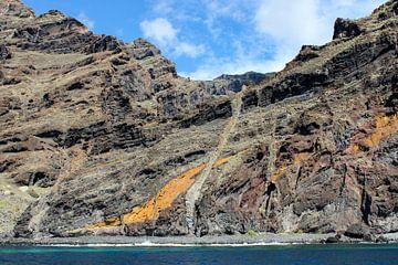 Steilküste Los Gigantes auf Teneriffa von Reiner Conrad
