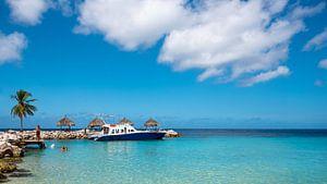 Blue Bay Curacao van Keesnan Dogger Fotografie