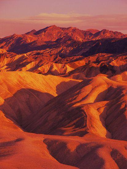 Death Valley, Zabriskie Point van Mr and Mrs Quirynen