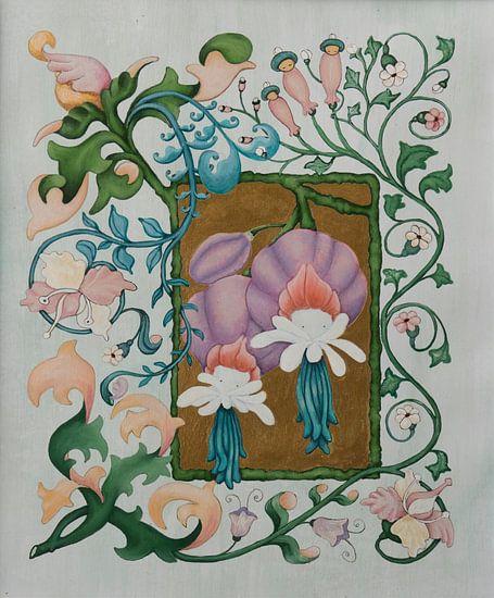 Lila Pofhoed Poppies van Anouk Maria van Deursen