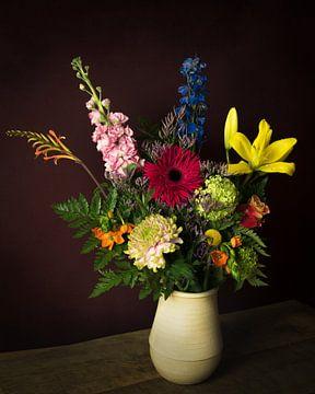 Nature morte classique des fleurs sur Joske Kempink