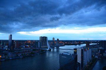 Rotterdam Licht en Donker van Marcel van Duinen