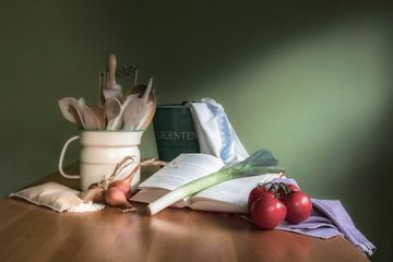 Keuken stilleven. van Wil Leurs