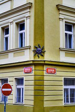 Prag - Solarplatte von Wout van den Berg
