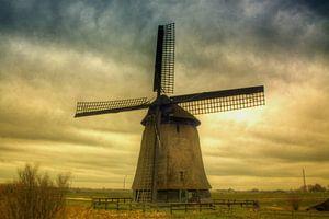 schermer windmolen van