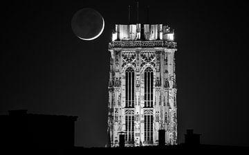St. Rombout Turm (Mechelen) von Stijn Cleynhens