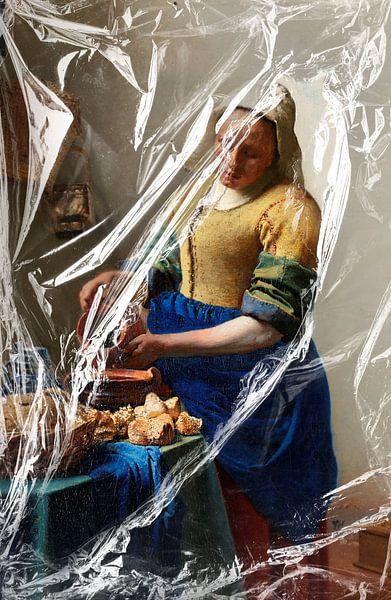 Het Melkmeisje – Almost Unwrapped van Marja van den Hurk