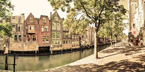 Binnenstad van Dordrecht Nederland Oud