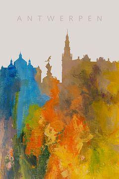 Antwerp in a nutshell van Harry Hadders