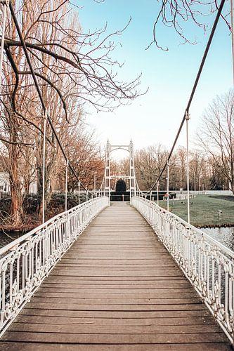 Toegangsbrug van kasteel Cortewalle