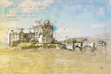 Eilean Donan Castle, Schottland von Theodor Decker