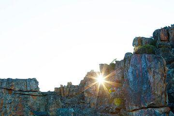 Zonnester door de Afrikaanse bergen van Dexter Reijsmeijer