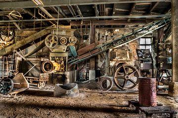 Urbex, Dakpannenfabriek van Harmen Goedhart