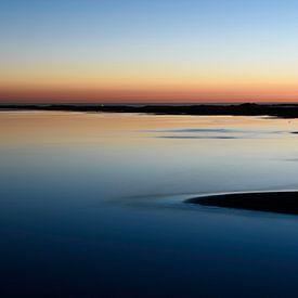 Serene sunset van Albert Wester Terschelling Photography