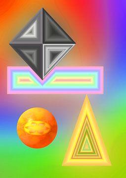 Geometricks van Harry Ucksche