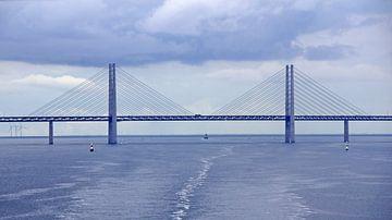 Sont Brücke zwischen Dänemark und Schweden von