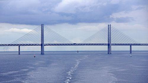 Sontbrug tussen Denemarken en Zweden van Aagje de Jong