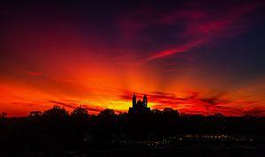Speyer-Der Himmel brennt von Roland Hoffmann