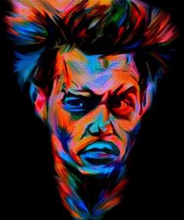Johnny Depp Pop Art PUR Serie No.2