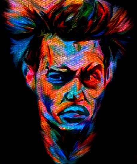 Johnny Depp Pop Art PUR Serie No.2 van Felix von Altersheim