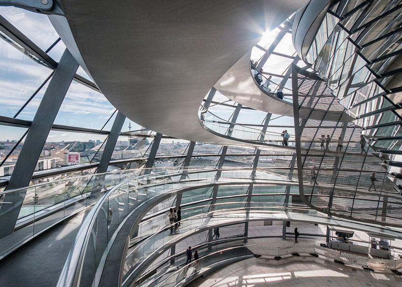 Reichstag Berlin – Inside the dome van David Pronk