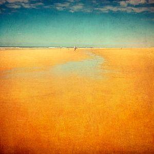endloser strand - Atlantik Frankreich von Dirk Wüstenhagen