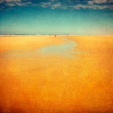 Eindeloos strand - Atlantisch Frankrijk van Dirk Wüstenhagen