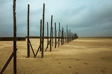 Aanlegsteiger Veerdienst Vlieland-Texel, Vliehors, Vlieland van Bart van Dam