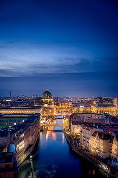 Vue sur Berlin sur Iman Azizi