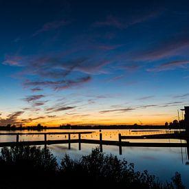 Zoetermeerse Plas | Noord Aa na Zonsondergang van Ricardo Bouman | Fotografie