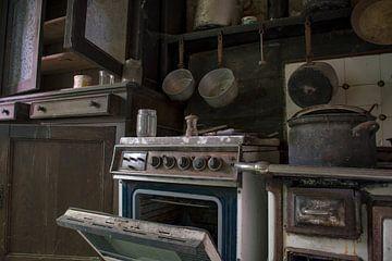 Vervallen keuken van Tim Vlielander