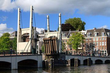 Magere brug geopend in Amsterdam van Dennis van de Water