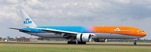KLM Airplane Dutch Olympic Team