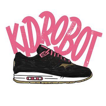 """Nike Air Max 1 """"Kid Robot"""" von Pim Haring"""