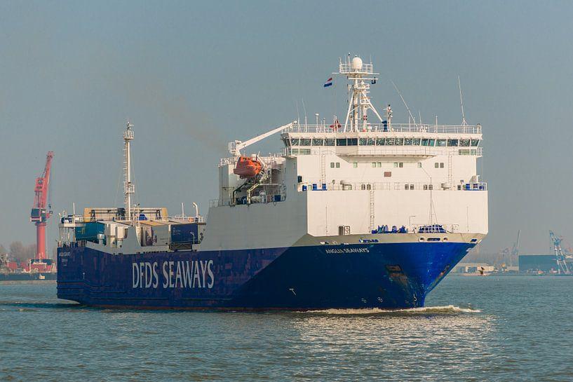 Logistieke Scheepvaart Rotterdam. van Brian Morgan