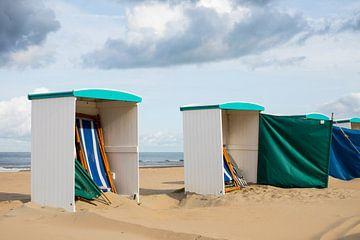 strandhuisjes sur Arjan van Duijvenboden