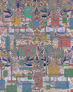 Woven woollen fabric van Rudy en Gisela Schlechter