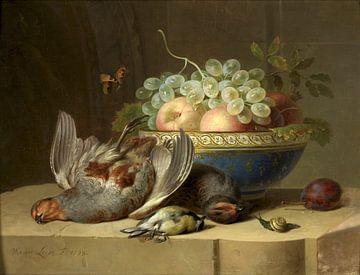 Stillleben mit Jagdbeute, Willem van Leen